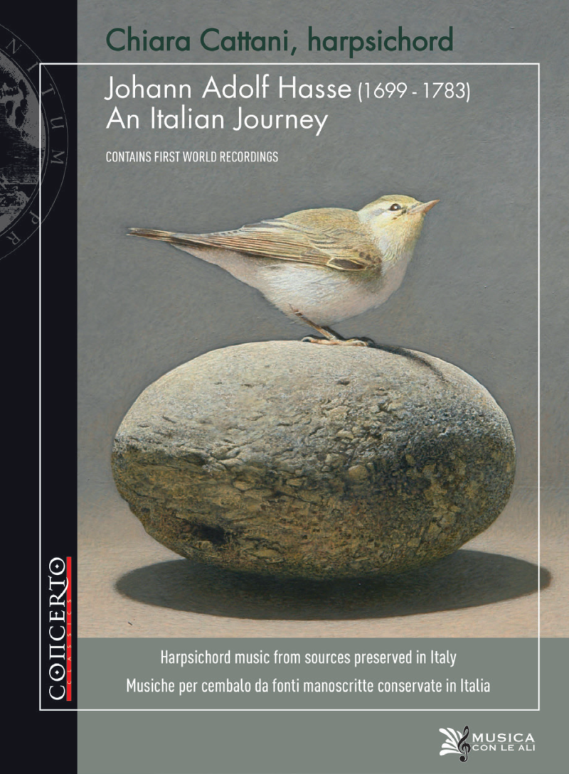 Chiara Cattani interpreta: JOHANN ADOLF HASSE: AN ITALIAN JOURNEY